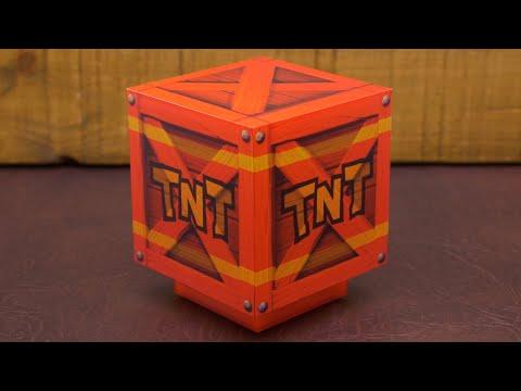 Mini Lampka Crash Bandicoot 3D TNT