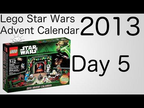 Vidéo LEGO Saisonnier 75023 : Le calendrier de l'Avent LEGO Star Wars 2013