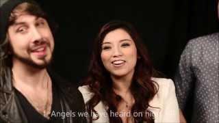 Pentatonix - Angels We Have Heard On High (HD LYRICS VIDEO)