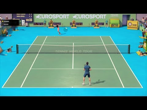 Tennis World Tour - PC Gameplay (1080p60fps)