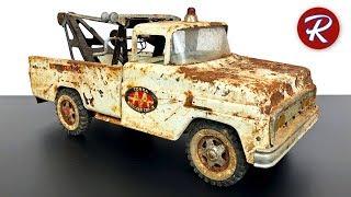 Восстановление эвакуатора Tonka 1960-х годов