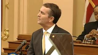 First Half of Ralph Northam First Address to General Assembly