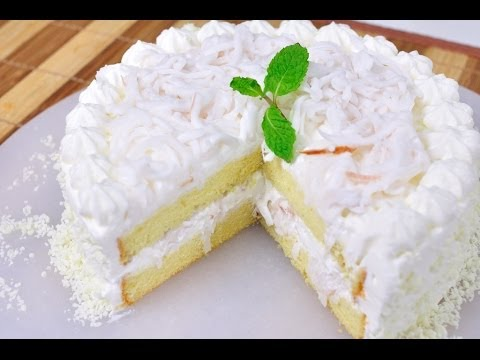Video Coconut Cake (Cake Ma Prao Aon)