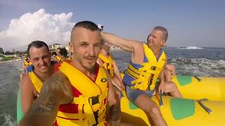 Остров развлечений - Железный Порт. банан, горки, батуты