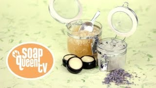 How To Make 3 Scrub Recipes (Lip Scrub, Face Scrub & Salt Scrub)