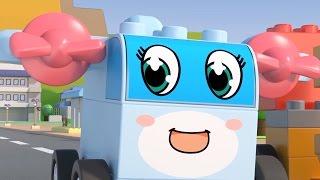 Чичиленд - Загадочные детали - Мультики про машинки-трансформеры  для детей