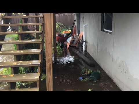 The October 2018 storms that took place in the Duluth area caused a substantial amount of flooding due to elevated water levels. This video captures a recent Park Point home that DBS had provided waterproofing service to. Prior to the service, the homeowner had experienced water leakage through the basement foundation. With the help of DBS, our crew was able to protect the home and keep it free from any future water leakage issues (most recently the October storm as shown in the video).