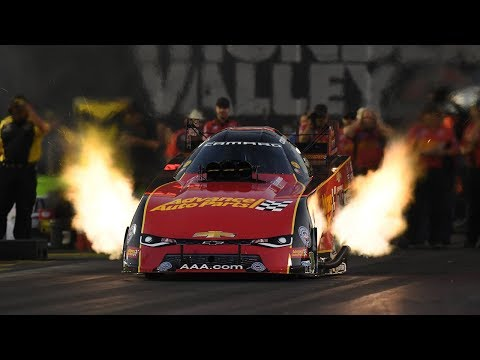 Courtney Force rockets to the top in Bristol