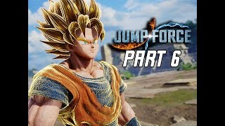 JUMP FORCE Gameplay Walkthrough Part 6 - GOKU (Let's Play)