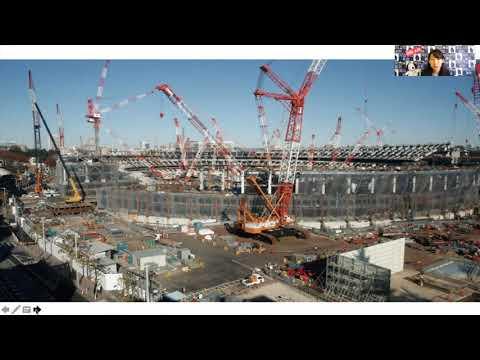 国立競技場 Construction