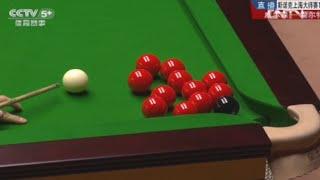 斯诺克奇观 黑球遭11颗红球围观(完整版)