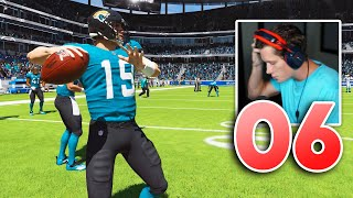 Madden 22 Face of the Franchise - Part 6 - rock bottom (i threw FIVE interceptions)