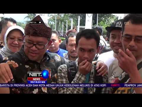 Video Ratusan Warga Nikmati Sajian Kopi Gratis Khas Jawa Barat - NET24