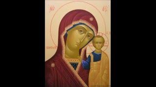 Иконы Божьей Матери, виды и значения