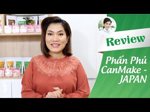 REVIEW PHẤN PHỦ CANMAKE - JAPAN