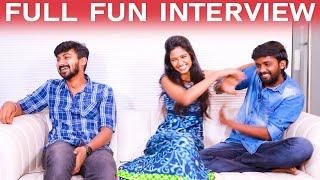 KPY தீனாவை வெளுத்து வாங்கிய தும்பா ஹீரோயின்! - Thumbaa Team Fun Interview