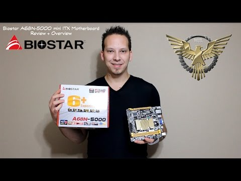 Biostar A68N-5000 Motherboard Overview and Review