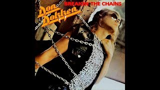 "Dokken ""Breakin' The Chains"" 1981 German Carrere Pressing"