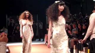 Claire Pettibone 2011 Spirit Of The Night Bridal Collection - Runway Finale