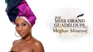 Meghan Monrose Miss Grand Guadeloupe 2018 Introduction Video