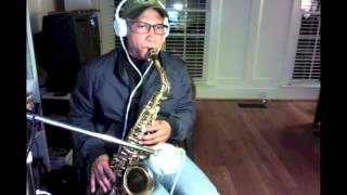 Barry Manilow - Tryin' to get the feeling again - (saxophone cover)