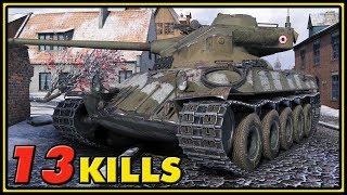 Lorraine 40 t - 13 Kills - World of Tanks Gameplay