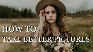 HOW TO TAKE BETTER PICTURES | Behind The Scenes Countryside Photoshoot + Pose Walking Portraits