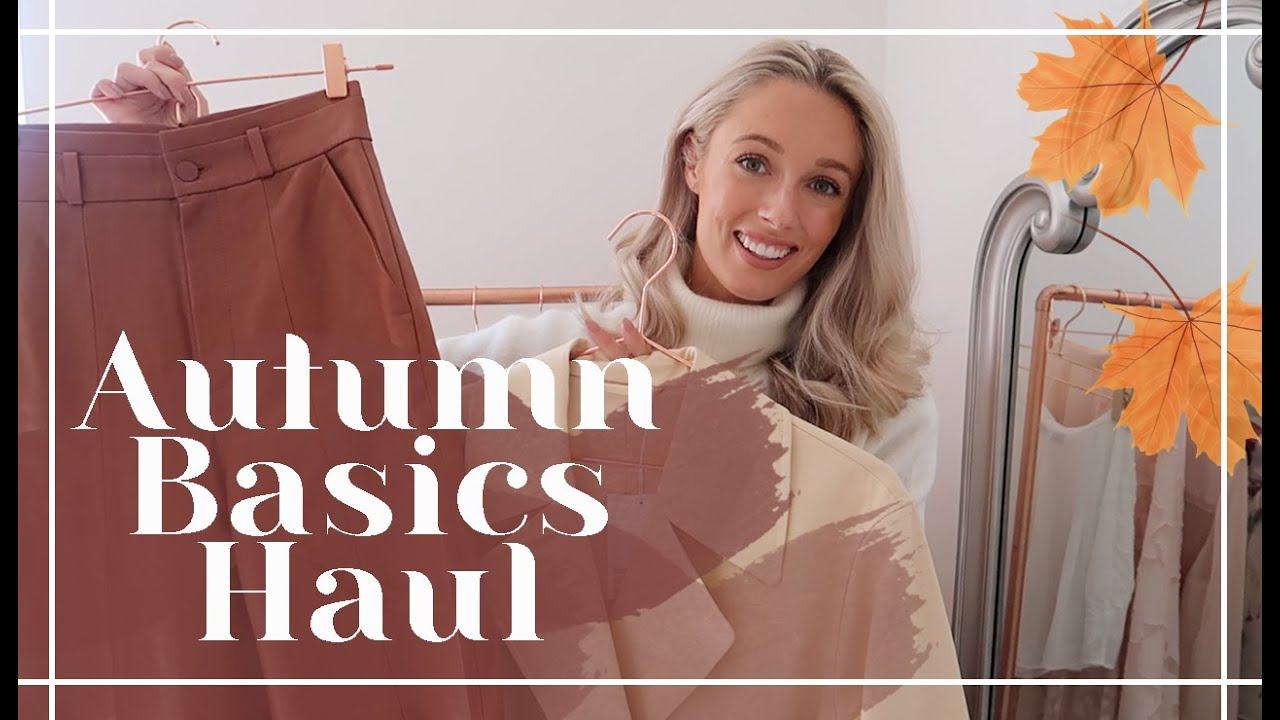 AUTUMN BASICS // & Other Stories Haul + Try On // Fashion Mumblr