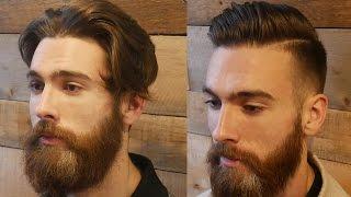Extreme Modern Hair & Beard Makeover Transformation | Mens Haircut & Beard Tutorial 2017