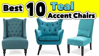 10 Best Teal Accent Chairs For Living Room And Bedroom With And Without Arms