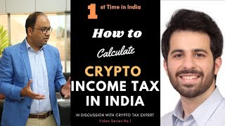 How to calculate Tax on Crypto Income in India?