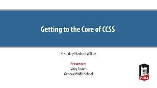Getting To The Core Of The Common Core State Standards (CCSS)