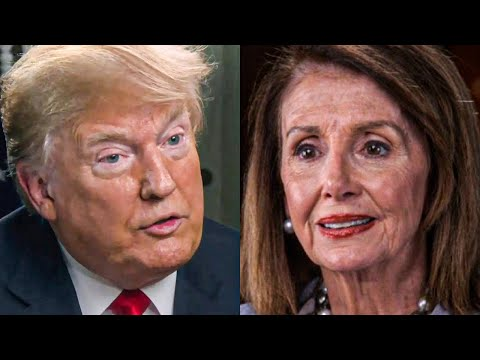 Trump and Pelosi Gearing Up For a HUGE Battle