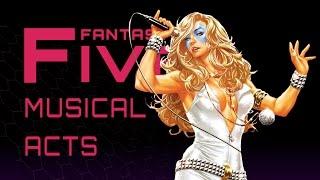 5 Best Comic Music Acts - Fantastic Five