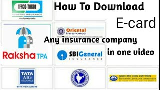 how to download insurance policy card ,how to download health insurance card
