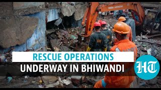 Bhiwandi building collapse: 39 dead, 25 rescued by NDRF & other teams  IMAGES, GIF, ANIMATED GIF, WALLPAPER, STICKER FOR WHATSAPP & FACEBOOK