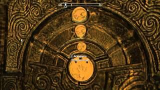 Skyrim - Фолгунтур комбинация камней(открытие двери)