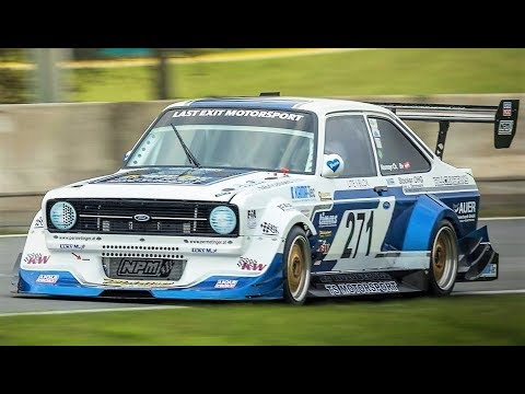 10.000Rpm Ford Escort Mk2 Cosworth || 308Hp/790Kg Monster On The Limit !!