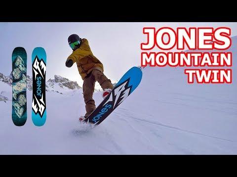 Jones Mountain Twin Snowboard Review