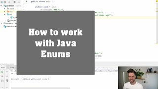 How to work with Java enums - Tips & Tricks #021 | Java Programmer: Tips & Tricks