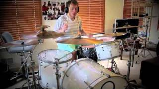 Jeff Curry - The Robot with Human Hair Part 2 1/2 - Dance Gavin Dance (drum cover)