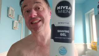 Nivea Men sensitive shaving gel Review does it stop razor burn