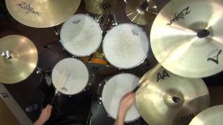 Dragonforce - Heroes Of Our Time Drum cover
