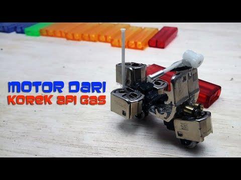 Unik Miniatur Motor Vespa Dari Korek Api Gas Bekas Kaskus