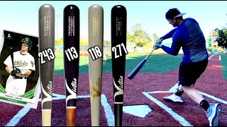 Which Wood Bat Turn Model is Best? Victus Maple Bat Showdown featuring MILB Player - Trace Loehr