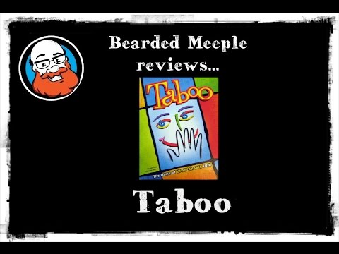 Bearded Meeple reviews Taboo