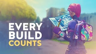 EVERY BUILD COUNTS! MASTERING BUILD FIGHTS (Fortnite Battle Royale)