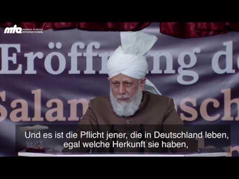 Aktivitäten der Ahmadiyya Muslim Jamaat Deutschland im Jahr 2016