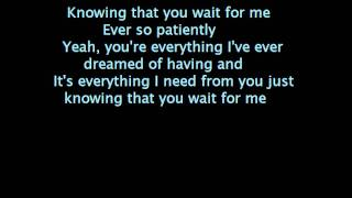 theory of a deadman-wait for me lyrics on screen.wmv