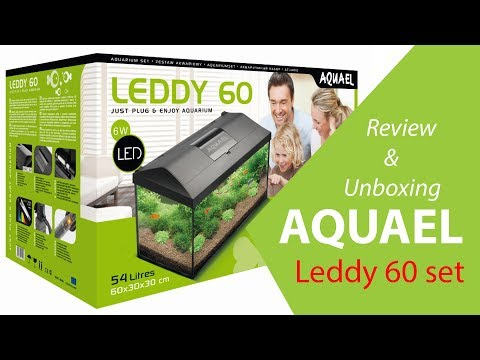 AquaEl Leddy 60 set Unboxing and Review